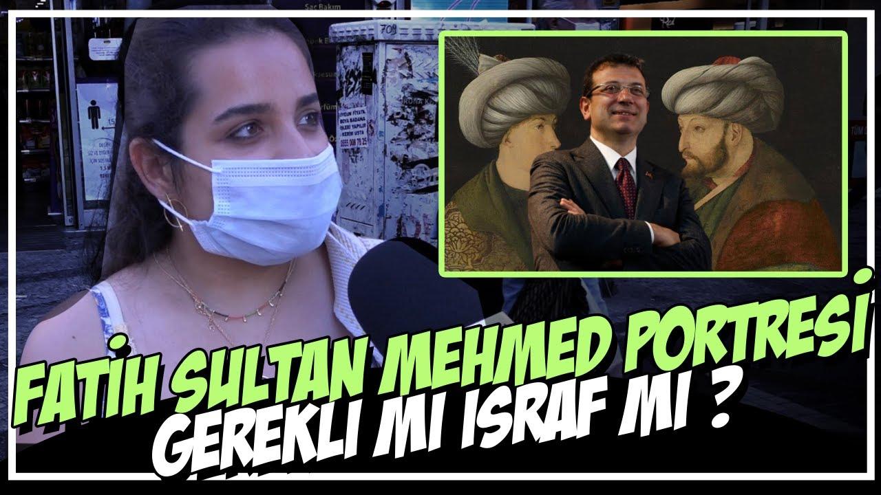 İBB'NİN 8 Milyon Liraya Atamız FATİH'İN Potresini Aldı !   Vatandaşın Yorumu  !