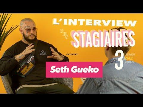 Youtube: Seth Gueko – L'interview par les Stagiaires de 3ème🎒: Prison, Coups Bas, son Enfance, Futur Album…