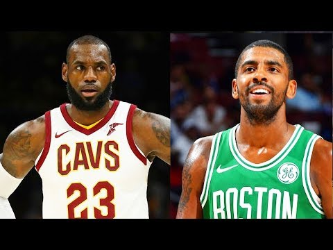 LeBron James Meets Kyrie Irving For The First Time After Trade! Celtics vs Cavaliers