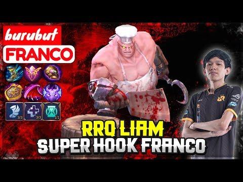 RRQ Liam Super Hook Franco [ Top Global Franco ] Burubut - Mobile Legends