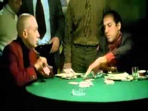 Фильм Блеф, эпизод игры в покер-1