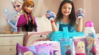 Elsa Şampuanla Yıkandım Kozmetik Ürünlerini Kullandım