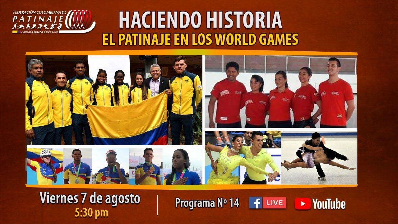 HACIENDO-HISTORIA No.14 - EL PATINAJE EN LOS WORLD GAMES