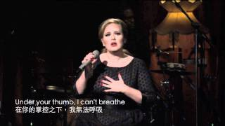 iTunes Festival - Adele Turning Tables HD Live (中文字幕/English Lyrics)