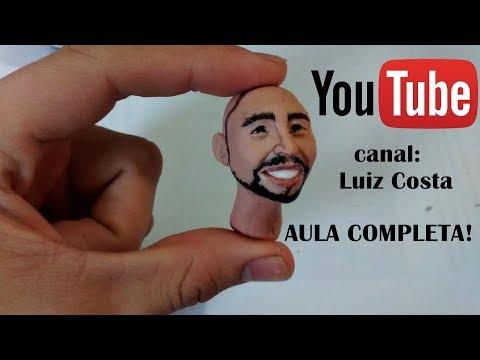 ROSTO REALISTA PARA INICIANTES BISCUIT- COMPLETO (LUIZ COSTA)