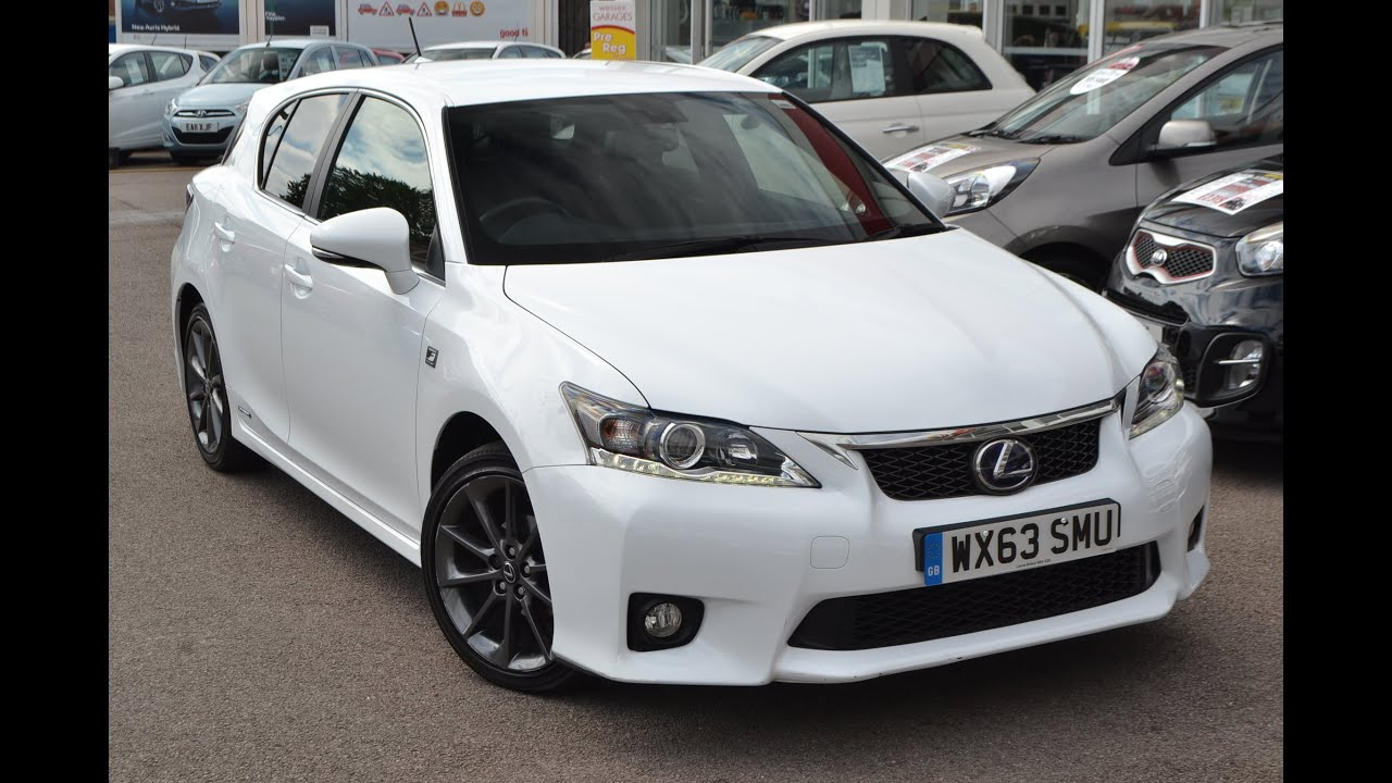 Wessex Garages | Used Lexus CT 200h F Sport CVT On Feeder Road In Bristol |  WX63SMU