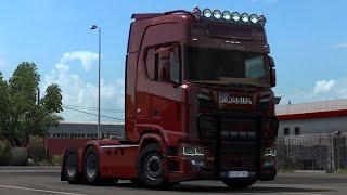 [ETS2 v1.38] Scania S520 V8 Siyah Holland