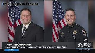 2 Officers Involved In Breonna Taylor Shooting Fired