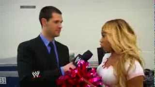 Cameron joins the WWE App -  February 7, 2014