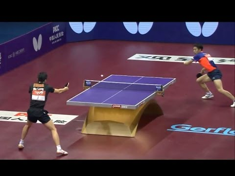 Table Tennis - The Power Of Shot Placement (Precision and Power)
