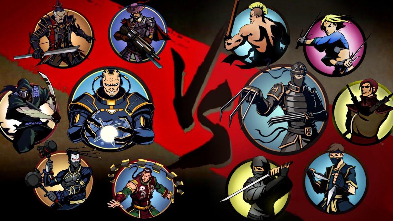 Shadow Fight 2 - Тень против Всех Телохранителей!