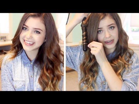 How I Curl My Hair: Loose Wavy Curls | Lindseyrem