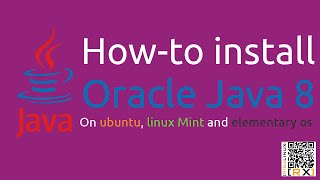 How-to install Oracle Java 8 On ubuntu, linux Mint and elementary os