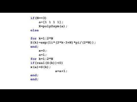 MATLAB Program of BUTTERWORTH filter m file