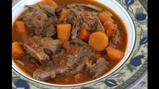 Carne Guisada A Mexican Pot Roast - So Tender And Delicious! by Rockin Robin