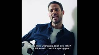 Burton Menswear X Jamie Redknapp: Best Dressed Man in Football