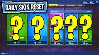 The NEW Daily Skin Items In Fortnite: Battle Royale! (Skin Reset #40)
