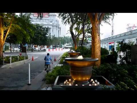 Walk around Marina Bay, Singapore