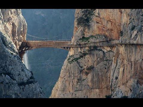 Caminito Del Rey Malaga Video | travel to Caminito Del Rey Holidays Spain
