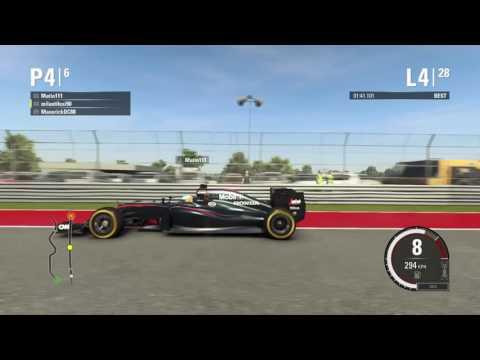 F1 2015 League Race USA: Battle with Matin