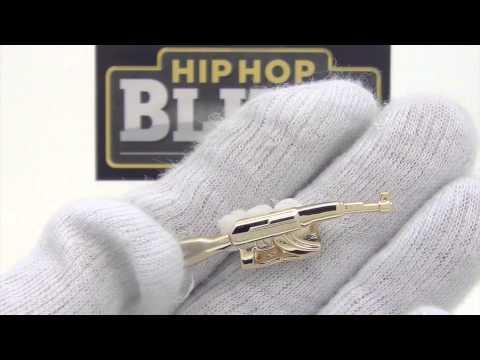Machine Gun Gold Grillz Rihanna Style