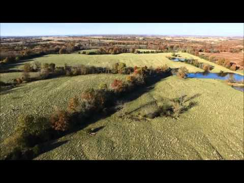 Willadean M. Walker and Dixie Lee Dalbey Revocable Trust Aerial Tour - Scotland County, MO