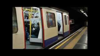 [London Underground] [HD] Circle line C69 and District line D78 stock trains at St. James´s Park