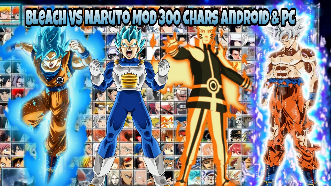 Bleach vs Naruto v3 MOD UPDATE 300 CHARS