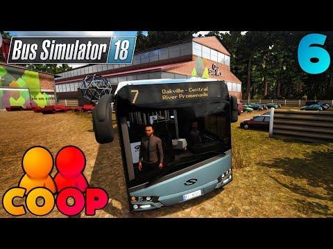 Bus Simulator 18 - #6 - Multiplayer COOP Playthrough - SOLARIS URBINO 12 MOD