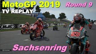 MotoGP Sachsenring 2019 | Championship #9 | TV REPLAY | MotoGP 19 PC GAME