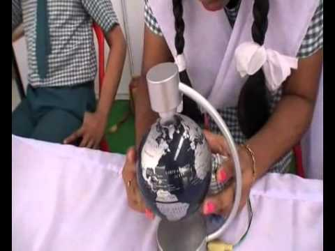 Saibaba Central School, Science Exhibition -2008:  Exhibits