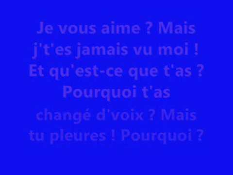 Claude François - Le téléphone pleure avec parole