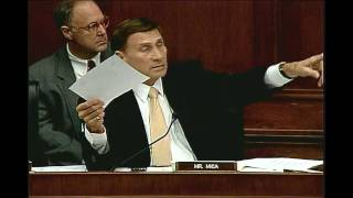 Rep. Mica Questions Officials at Hearing on the Gulf Coast Oil Spill