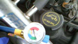 How to Recharge the AC 2002 Ford Mustang