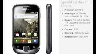 Harga Hp Samsung Galaxy Fit S5670