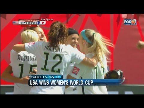 U.S.A. Wins The Women's World Cup