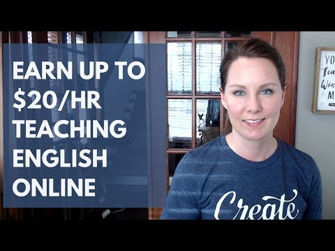 Get Paid to Teach English Online: Earn Up to $20/Hr