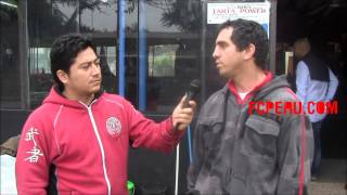 Entrevista al DT nacional de Muaythai Rodrigo Jorquera