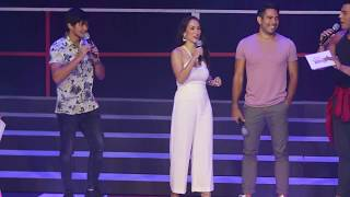 Matteo Guidicelli, Ina Raymundo, and Gerald Anderson for Century Tuna Superbods Ageless 2018