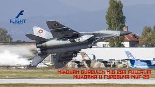 Mig 29 4k ultra hd video with original sound