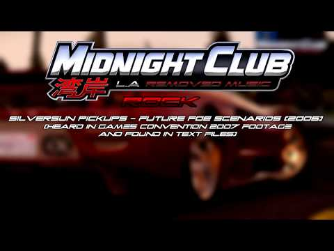 Midnight Club: Los Angeles - Removed Music (Complete) (BT, KRS-One, Bad Religion and more)