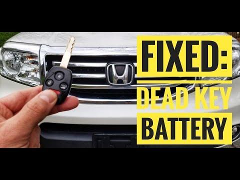Honda Key Fob Battery Change - How to DIY Learning Tutorials