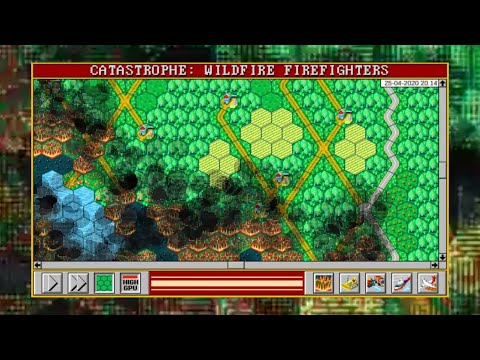 Catastrophe: Wildfire Firefighters Theme Song [HEX-BASED OLD SCHOOL PC STRATEGY GAME IN DEVELOPMENT] |