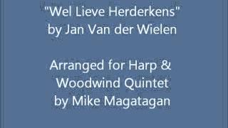 """Wel Lieve Herderkens"" for Harp & Woodwind Quintet"