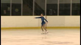 Olivia Grant Gold Medal Figure Skating Competition March 2013