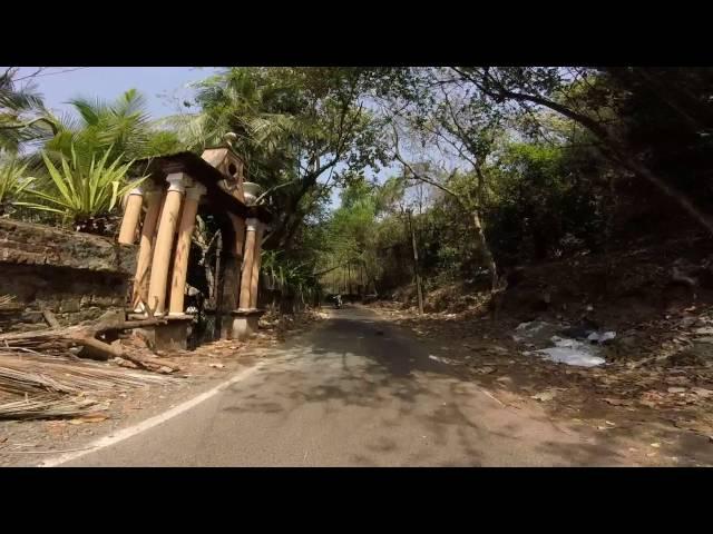 Cruising round Goa with Johnny Bond :-)