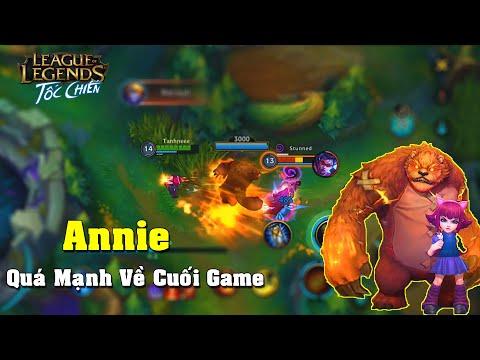 Liên Minh : Tốc Chiến | Thêm 1 Vị Tướng Cực Mạnh Đường Giữa Annie | Mạnh Về Late Game