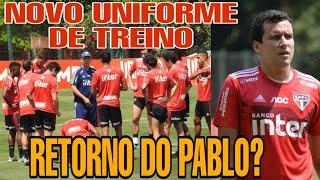 Gambar cover NOVO UNIFORME DE TREINO DO SPFC | RETORNO DO PABLO NOS TREINOS