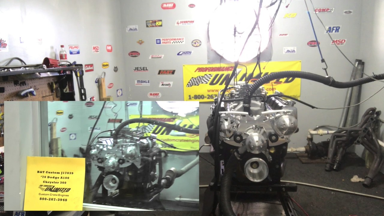 360 Dodge 400HP Crate Engine | Proformance Unlimited Inc