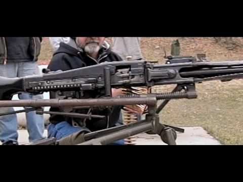 1500 rounds per minute from the MG-42  in slow motion using the Casio EX-F1
